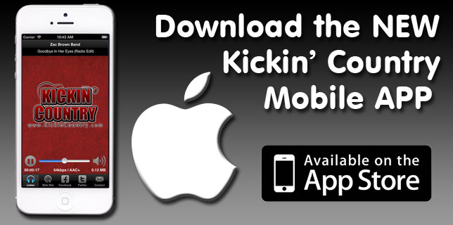 Kickin' Country Mobile App