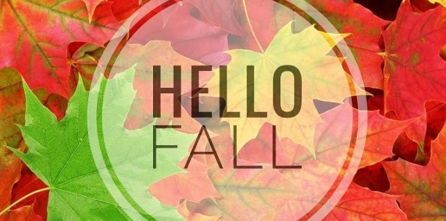 Hello Fall! What's your favorite part of fall? #fall #autumn