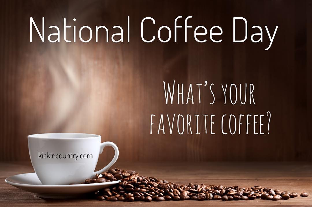 National coffee day! Tell us your favorite coffee below! ☕️☕️. #coffee