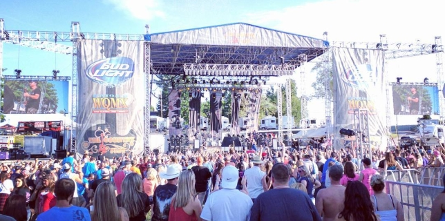 The Country Fest Ohio 2016!  Day 1  #tcf2016  #countrymusic  #kickincountryradio