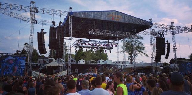 The Country Fest Ohio! Day 3. #thecountryfest  #tcf2016  #countrymusic #kickincountryradio