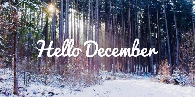 Hello December! #December