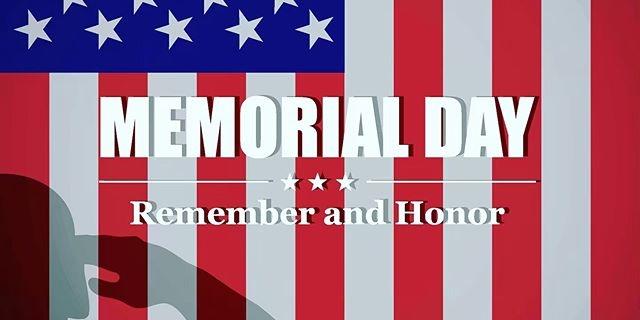 Have a safe and Happy Memorial Day 🇺🇸 #memorialday #memorialdayweekend #usa
